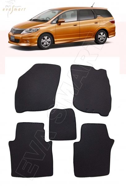 Honda Airwave правый руль 2005 - 2010 коврики EVA Smart