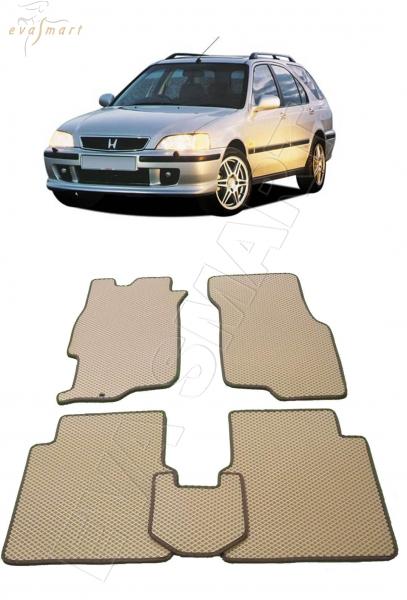 Honda Civic VI Aerodeck 1990 - 2000 Автоковрики 'EVA Smart'
