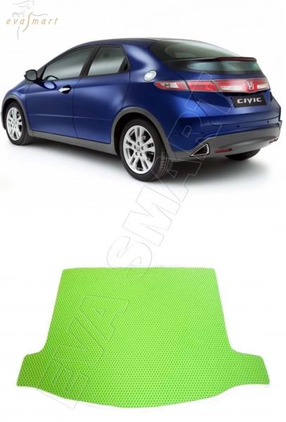 HondaCivic VIII хэтчбек багажник 2006 - 2012 Автоковрики 'EVA Smart'