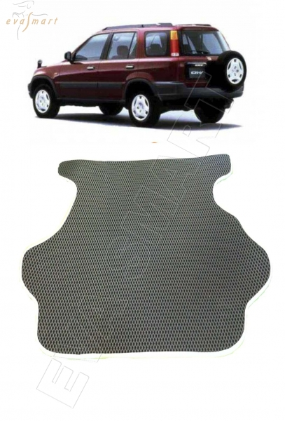 Honda CR-V I (АКПП) правый руль коврик в багажник 1995 - 2001 EVA Smart