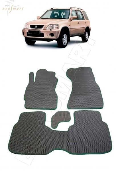 Honda CR-V I (МКПП) 1995 - 2002 коврики EVA Smart