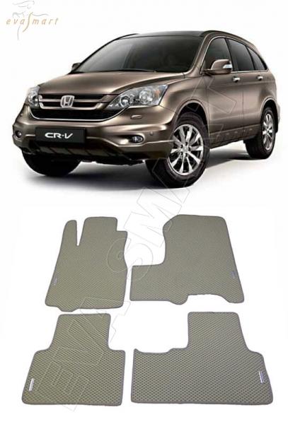 HondaCR-V III 2007 - 2012 Автоковрики 'EVA Smart'