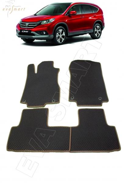 Honda CR-V IV 2012 - н.в. коврики EVA Smart