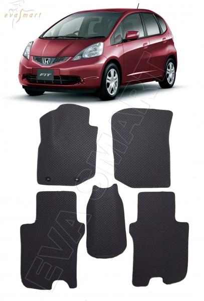 Honda Fit II 2007 - 2014 коврики EVA Smart