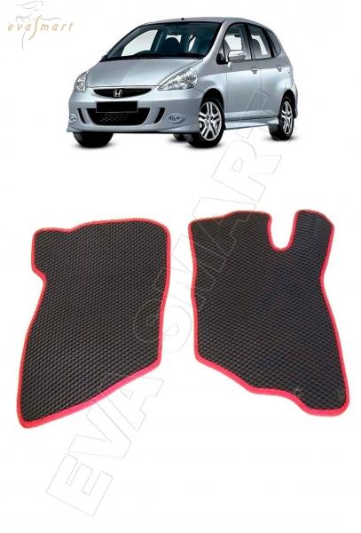 Honda Fit (Jazz) GD правый руль 2001 - 2007  Автоковрики 'EVA Smart'