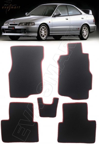 Honda Integra III рестайлинг 1995-2001 правый руль коврики EVA Smart