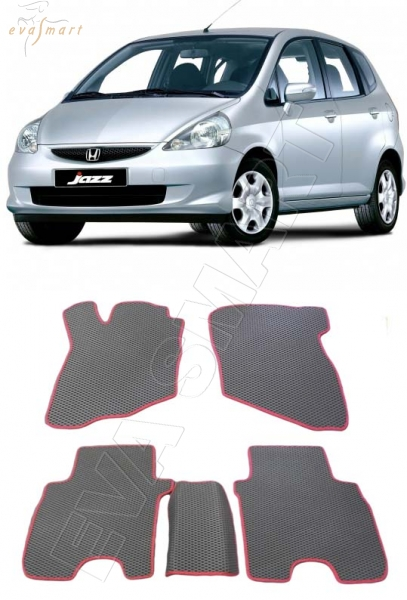 Honda Jazz 2004 - 2008 Автоковрики 'EVA Smart'