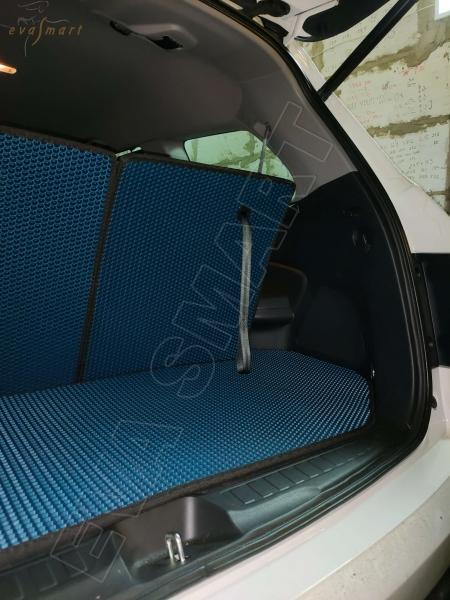 Honda Pilot III 7 мест 2015 - н.в. коврик в багажник макси EVA Smart