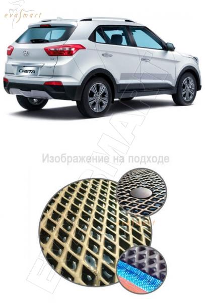 Hyundai Creta 2016 - Коврик багажника EVA Smart