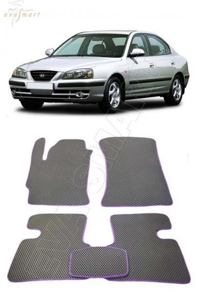 Hyundai Elantra III 2000 - 2010 Автоковрики 'EVA Smart'