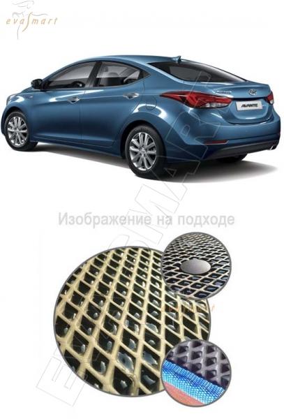 Hyundai Elantra седан VI 2015 - 2016 Коврик багажника EVA Smart