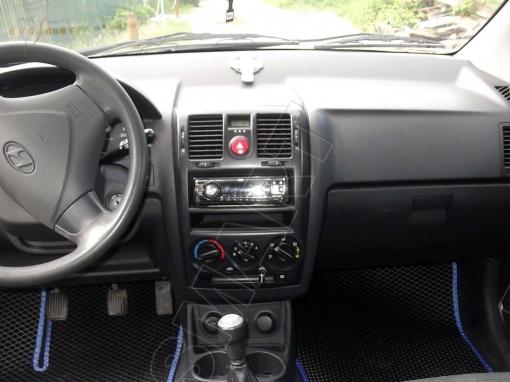 Hyundai Getz 2002 - 2011 коврики EVA Smart
