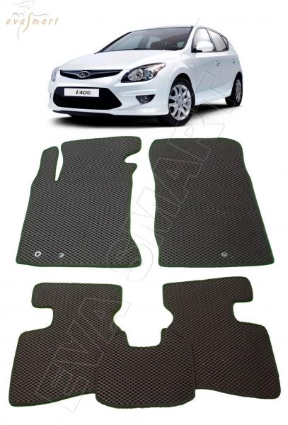 Hyundai i30 2007 - 2012 Автоковрики 'EVA Smart'