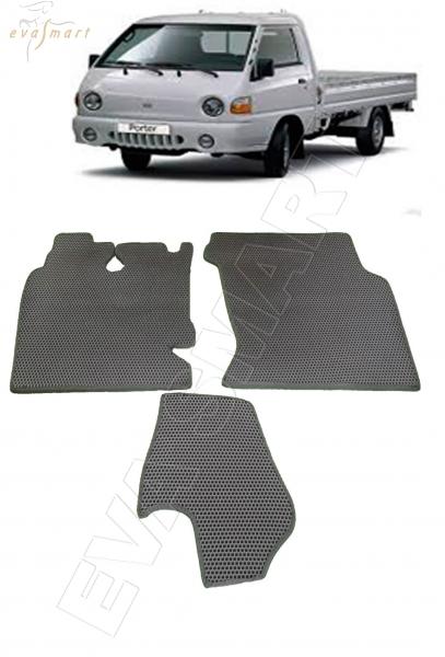 Hyundai Porter 1996 - н.в. коврики EVA Smart