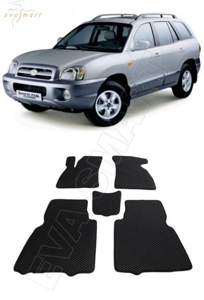 Hyundai Santa Fe I Classic 2000 - 2012 Автоковрики 'EVA Smart'