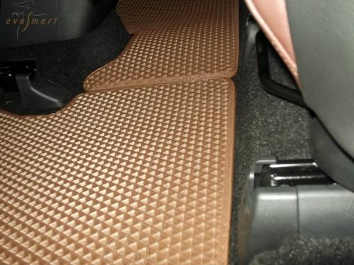 Hyundai Santa Fe IV 7 мест 2018 - н.в. коврики EVA Smart
