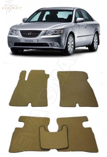 Hyundai Sonata V 2004 - 2010 Автоковрики 'EVA Smart'