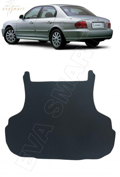 Hyundai Sonata IV 2001 - 2012 коврик в багажник EVA Smart