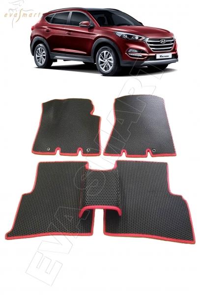 HyundaiTucson 2015 - н. в. Автоковрики 'EVA Smart'