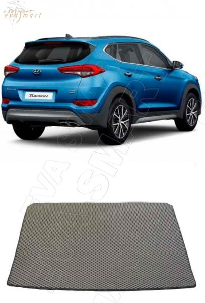 Hyundai Tucson III вариант макси 3d 2015 - н.в. коврики EVA Smart