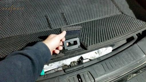 Chevrolet Captiva 5 мест 2011 -  Автоковрики 'EVA Smart'