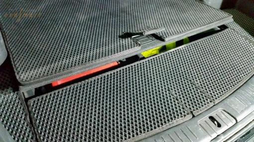 Chevrolet Captiva 5 мест 2011 - н.в. коврики EVA Smart