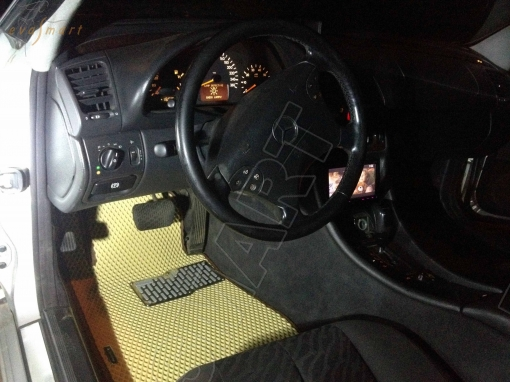 Mercedes-Benz СLK-класс I (W208) 1997-2003 Автоковрики 'EVA Smart'