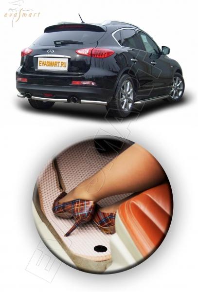 Infiniti EX коврик в багажник 2007 - 2014 EVA Smart