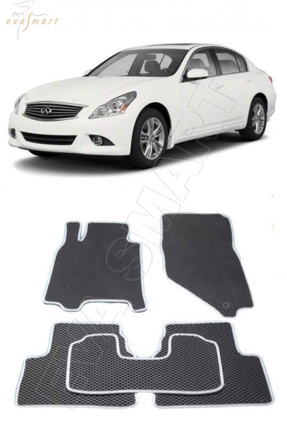 Infiniti G IV 2006 - 2013 Автоковрики 'EVA Smart'