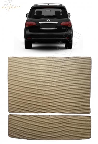 Infiniti QX56 5 мест 2010 - 2014 коврик в багажник EVA Smart