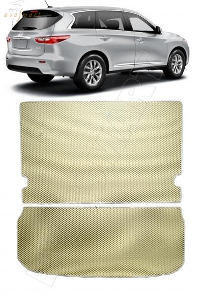 Infiniti QX60 I 2013 - 2016 коврик в багажник макси EVA Smart