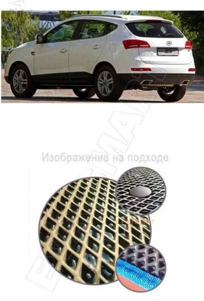 Jac S5 (Eagle) 2014 - 2017 Коврик багажника EVA Smart