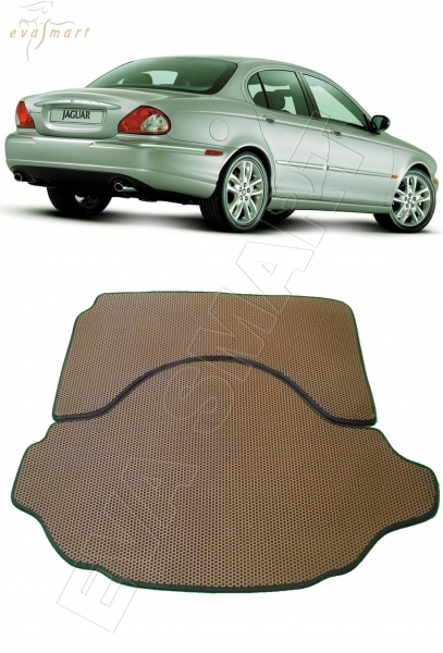 Jaguar X-Type коврик коврик в багажника 2001 - 2010 EVA Smart