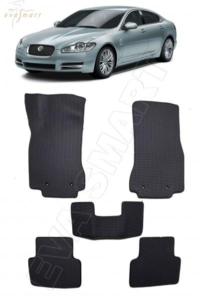 Jaguar XF I 2007 - 2015 коврики EVA Smart