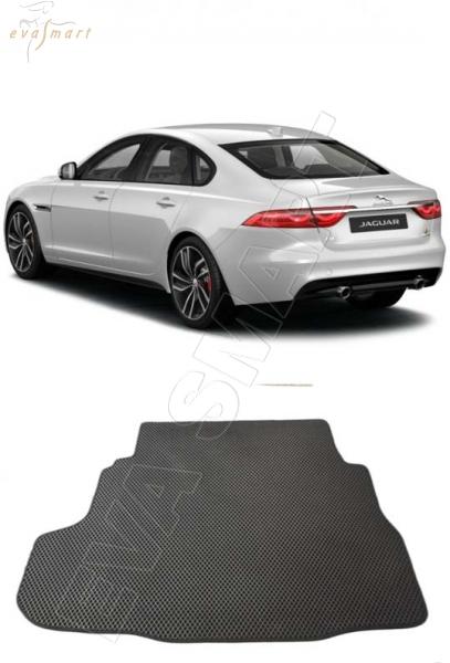 Jaguar XF II багажник 2015 - н. в. Автоковрики 'EVA Smart'