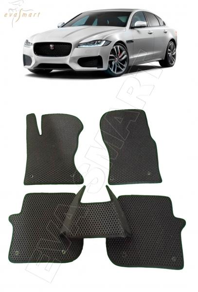 Jaguar XF II 2015 - н. в. Автоковрики 'EVA Smart'