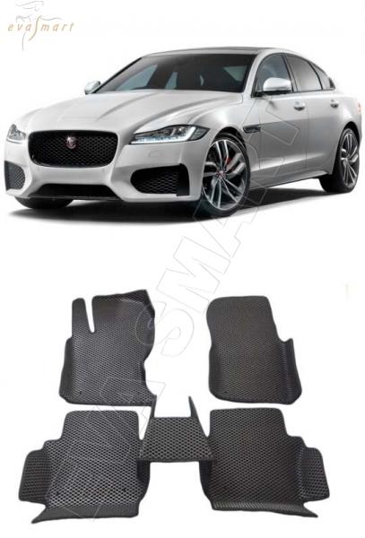 Jaguar XF II вариант макси 3d 2015 - Автоковрики 'EVA Smart'