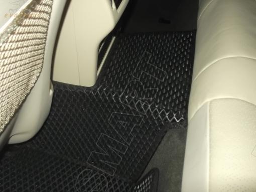 Jaguar XF II вариант макси 3d 2015 - н.в. коврики EVA Smart