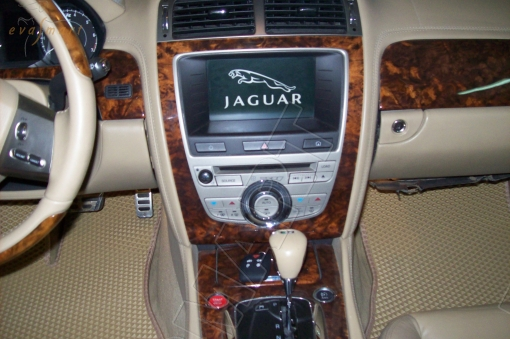 Jaguar XKR II 2006 - 2008 коврики EVA Smart