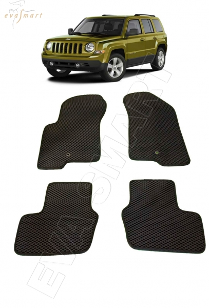 Jeep Liberty (Patriot) MK 2007 - н.в. коврики EVA Smart