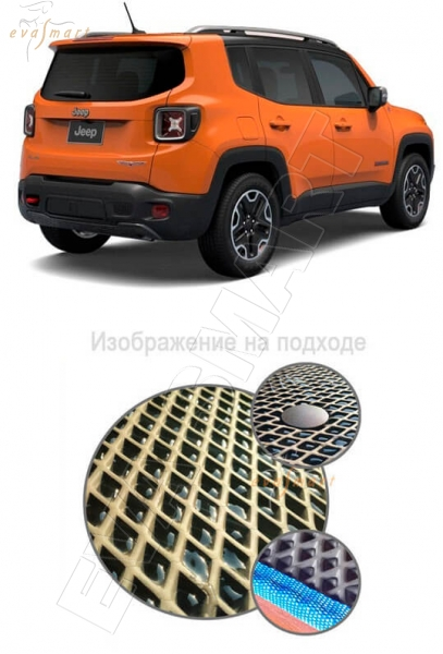 Jeep Renegade Limited 4WD 2014 - Коврик багажника EVA Smart