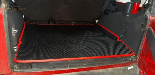 Jeep Wrangler III (JK) 5дв 2007 - 2018 коврик в багажник EVA Smart