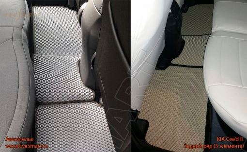 "KIA Ceed II 2012 - н.в. автоковрики ""EVA Smart"""