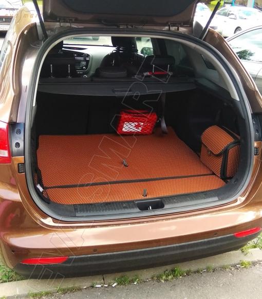 KiaCeed II багажник универсал 2012 -  Автоковрики 'EVA Smart'