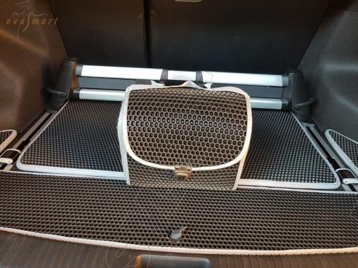 KiaCeed II багажник универсал 2012 - 2018 Автоковрики 'EVA Smart'