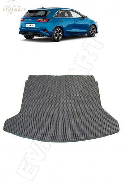 Kia Ceed III коврик в багажник хэтчбек 2018 - н.в. EVA Smart