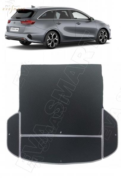 Kia Ceed III коврик в багажник универсал 2018 - н.в. EVA Smart