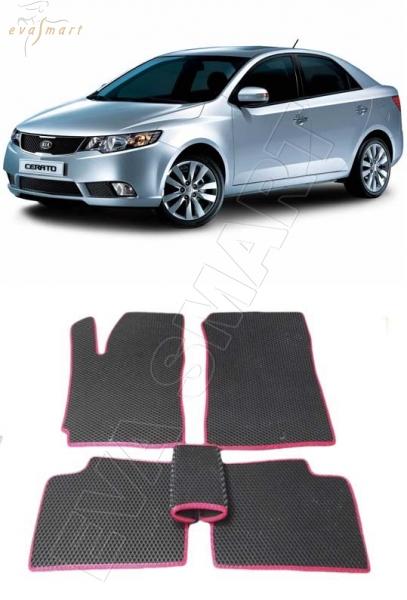 Kia Сerato II 2009 - 2013 коврики EVA Smart