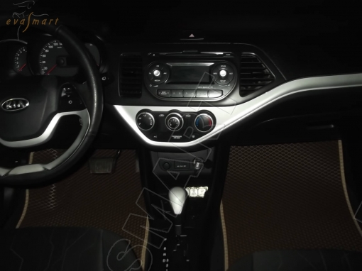 Kia Picanto II 2011- 2017 Автоковрики 'EVA Smart'