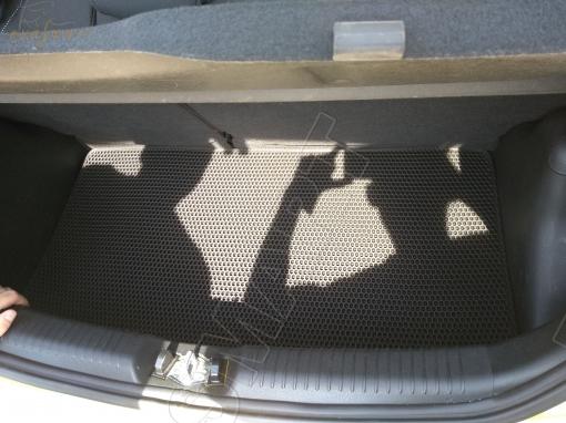 Kia Picanto II хэтчбек 5дв 2011 - 2017 коврик в багажник EVA Smart